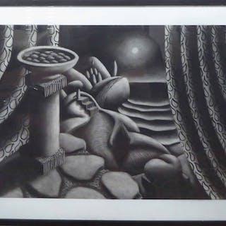ROBIN MASON (British b. 1958) 'Inca Tray'