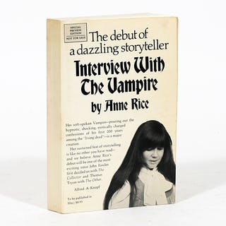 Interview with the Vampire - RICE, ANNE.