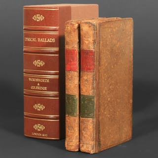 Lyrical Ballads - Wordsworth, William; Coleridge, Samuel Taylor.