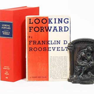 Looking Forward - ROOSEVELT, FRANKLIN DELANO.