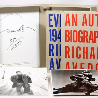 An Autobiography WITH: Evidence 1944-1994 [Whitney Museum] - AVEDON, RICHARD.