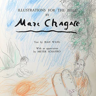 Illustrations for the Bible - CHAGALL, MARC.