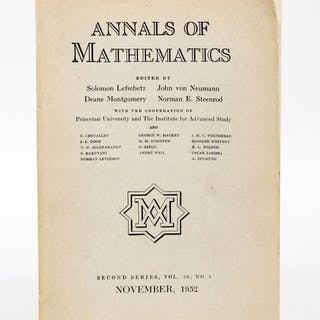 Real Algebraic Manifolds - NASH, JOHN.