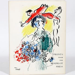 Prints from the Mourlot Press - Chagall, Marc; Picasso, Pablo; Miro