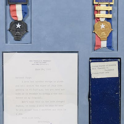 Personal Badges for the 1960 Democratic National Convention; with