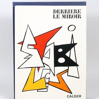 Stabiles: Derrière le Miroir 141 - CALDER, ALEXANDER.