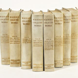 The Collected Works in Verse and Prose of William Butler Yeats - YEATS
