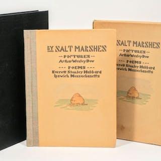 By Salt Marshes - DOW, ARTHUR WESLEY; HUBBARD, EVERETT STANLEY.