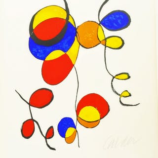 Art in America, Graphics 70 - CALDER, ALEXANDER; ANUSKIEWICZ, RICHARD;