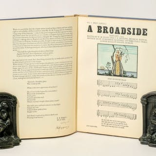 BROADSIDES, A COLLECTION OF NEW AND OLD SONGS, 1935. - YEATS, WILLIAM