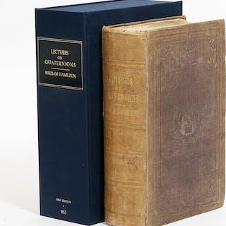Lectures on Quaternions - HAMILTON, WILLIAM ROWAN.