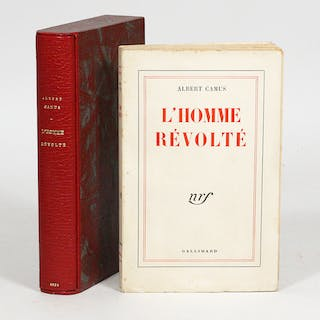 L'Homme Révolté [The Rebel] - CAMUS, ALBERT.