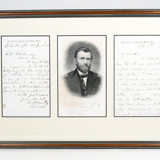 Autograph Letter Signed - GRANT, ULYSSES S.