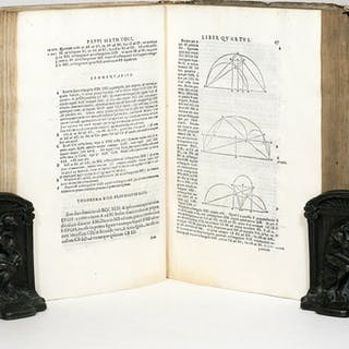 Mathematicae collectiones [Books III- VIII] a Federico Commandino...
