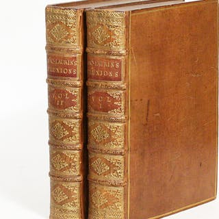 A Treatise of Fluxions - [NEWTON, ISAAC]. MACLAURIN, COLIN.