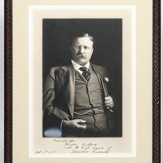 Photograph Signed - ROOSEVELT, THEODORE.