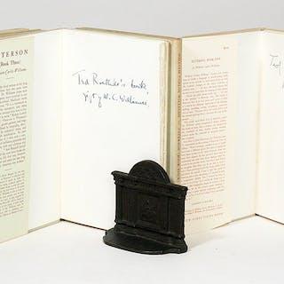 Paterson: Books I-V - WILLIAMS, WILLIAM CARLOS. [ROETHKE, THEODORE].