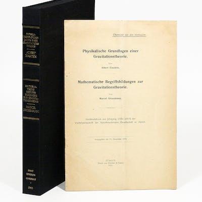 Physikalische Grundlagen einer Gravitationstheorie [Physical Foundations