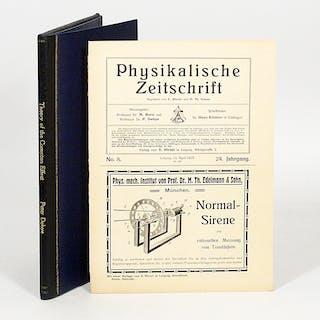Zerstreuung von Röntgenstrahlen und Quantentheorie - DEBYE, PETER.