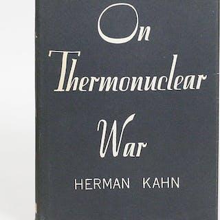 On Thermonuclear War - KAHN, HERMAN.