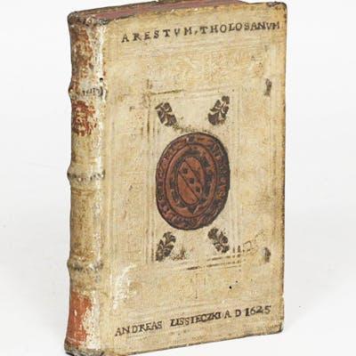 Arrestum sive Placitum Parlamenti Tholosani, continens historiam (In