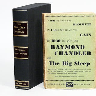 The Big Sleep - CHANDLER, RAYMOND.