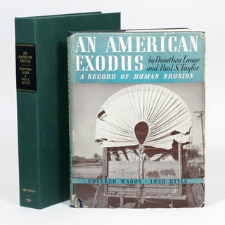 An American Exodus: A Record of Human Erosion - LANGE, DOROTHEA; TAYLOR, PAUL.