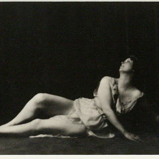 Silver Print Photograph - [DANCE]. GENTHE, ARNOLD; DUNCAN, ISADORA.