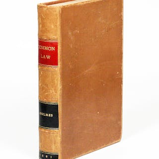 The Common Law - HOLMES, JR., OLIVER WENDELL.