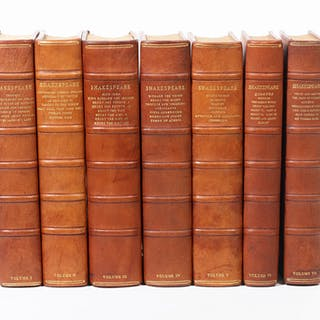 The Works of Shakespeare. The text of the First Folio with Quarto