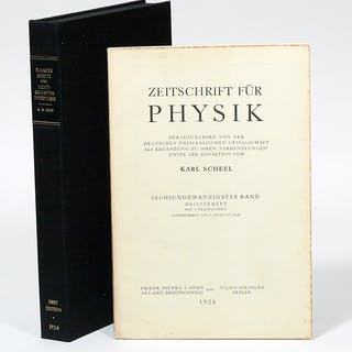 Plancks Gesetz und Lichtquantenhypothese [Planck's Law and Light Quantum