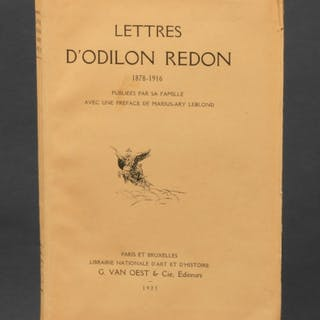Lettres D'Odilon Redon - Redon, Odilon.