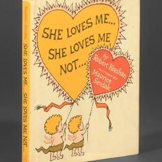 She Loves Me... She Loves Me Not... - Sendak, Maurice; Keeshan, Robert.