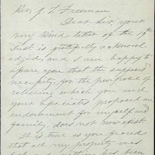 Autograph Letter Signed - Davis, Jefferson.