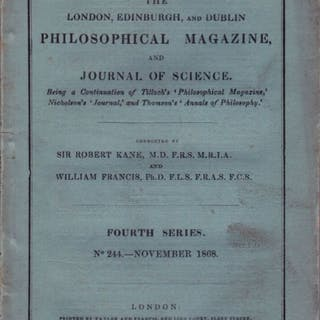 On Discontinuous Movements of Fluids - Helmholtz, Hermann Von.