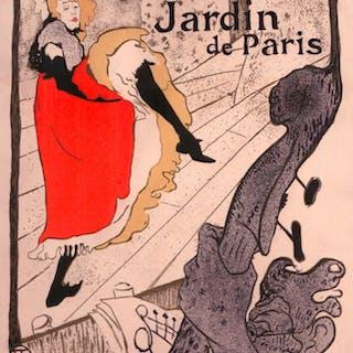 Jane Avril - Toulouse-lautrec, Henri De.