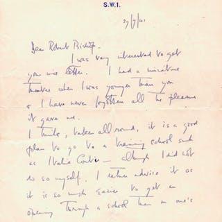 Autograph Letter Signed - Coward, Noel.