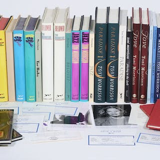 Toni Morrison Collection: Signed first editions, review copies, uncorrected