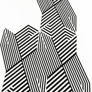 Psicostruttura n.575 - 1974 -  Franco Grignani