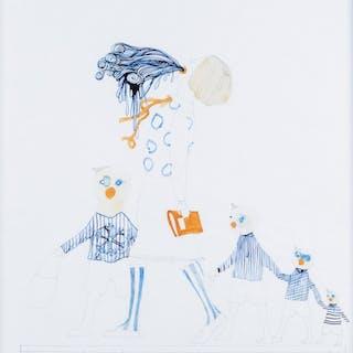 Senza titolo (dalla serie Walk to school) - 2008 -  Eva Kotatkova
