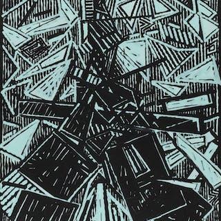 Blast (Omaggio a E. Pound) -  Aldo Mondino