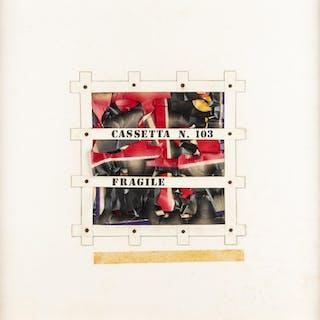 Progetto Cassetta n.103 Fragile - 1970 -  Guglielmo Achille Cavellini