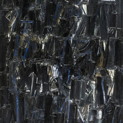 Composizione con azzurro - 1979 -  Piero Ruggeri