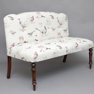 Decorative upholstered bench