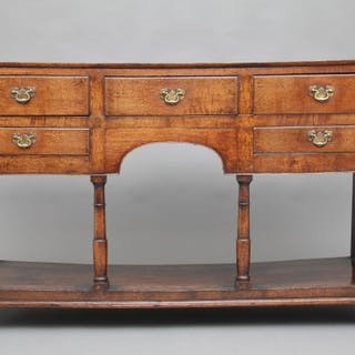 18th Century oak potboard dresser