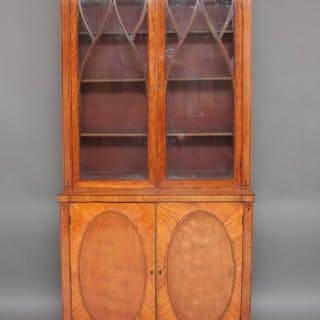 Early 19th Century satinwood bookcase