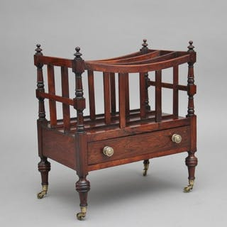 Early 19th Century rosewood Canterbury