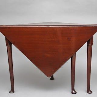 18th Century mahogany envelope table