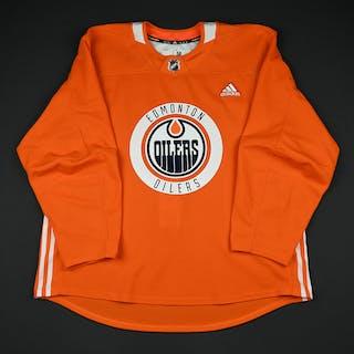 Matthew Benning - 2017-18 - Edmonton Oilers - Practice Jersey