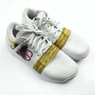 Spencer Dinwiddie - Game-Worn Sneakers - K8iros 8.1- Kickasso Kustoms